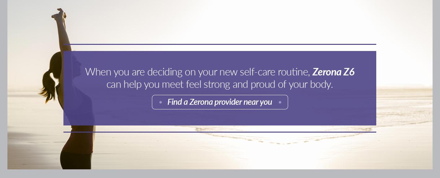 find a zerona provider